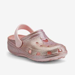Clogs für Kinder COQUI BIG FROG Candy pink glitter 34/35