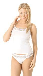 Wäsche Set Damen Slip Shirt Set mit Spitze Unterwäsche Set 92% Baumwolle 3061