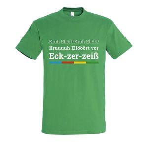 Maritimes Kreuzfahrt Fun T-Shirt - KRUH ELLÖRT in Sommerfarben, Farbe: Grün, Größe: XL