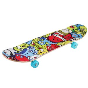 80x20cm Flash Skateboard Deck Funboard Holzboard komplett Ahornholz Double sided
