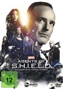 Marvel's Agents of SHIELD - SSN #5 (DVD) Kompl. Staffel #5, 6Discs - Touchstone  - (DVD Video / TV-Serie)