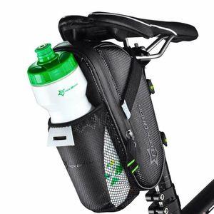 ROCKBROS Satteltasche Fahrrad Tasche Mit Flaschenhalter C7-1