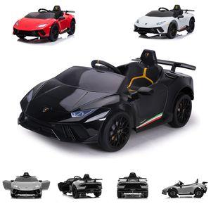 Chipolino Kinder Elektroauto Lamborghini Huracan, Fernbedienung, Musikfunktion schwarz
