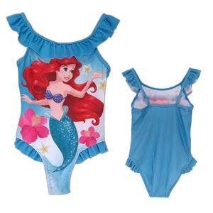 Disney Arielle die Meerjungfrau Badeanzug Hellblau 128/134