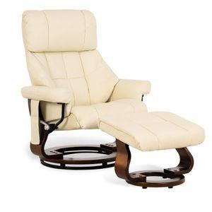 MCombo Relaxsessel Fernsehsessel 360° drehbar Massagesessel mit Fußhocker 9068