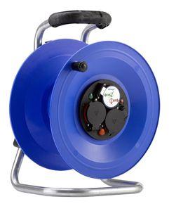 HEDI K2Y000TF Kunststoff-Kabeltrommel Professional, leer, spritzwassergeschützt *NEU*