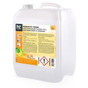 1 x 5 Liter Zitronensäure 50% in 5 L Kanistern