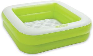 Planschbecken -  57100NP 'Play Box' Babypool (86 x 86 x 25cm), Farbe:grün