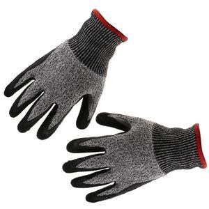 Schnittschutzhandschuhe Langlebiger Schnittschutz Arbeitshandschuhe - 1 Paar - Montagehandschuhe - Schnittschutzhandschuh