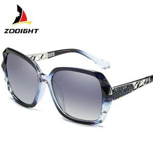 Designer Polarisiert Sonnenbrille Damen Frauen Mädchen Überdimensional UV400