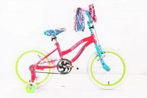 18 Zoll Kinder Mädchen Mädchenfahrrad Kinderfahrrad Fahrrad Kinderrad Mädchenrad Rad Bike mit Stützräder Pink POWER GIRL