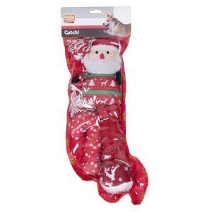 Karlie Flamingo Xmas-Geschenk Socke für Hunde - rot