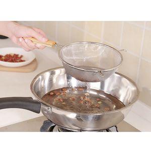 Küchensiebe aus Edelstahl - Siebe mit Griffen - Mehlsieb Haushaltssieb 18cm wie gezeigt