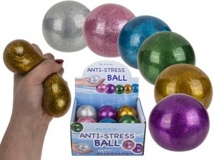 Out of the Blue Squeeze Wasserball Glitzer