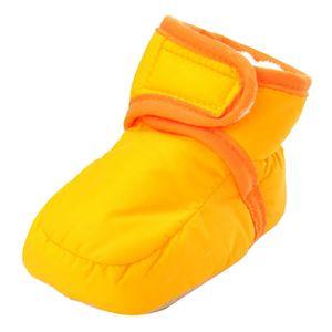 Neugeborenes Baby Schuhe Kleinkind Baumwolle Größe 11 Farbe Orange