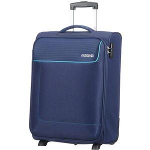 American Tourister Funshine Upright 55/20 Orion Blue 755062610 mit 2 Rollen Koffer