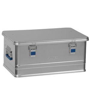 Alutec Transportkiste COMFORT 48 - Aluminium Box 48 L mit Deckel verschließbar - 48 Liter