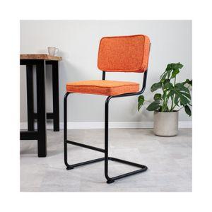 Bunter Barhocker Ezzio   Farbe: Orange