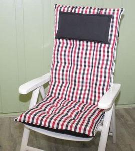 Sun Garden Hochlehnerauflagen Auflagen 90360-310 Sylt 120x50x8 cm Auflage Gartenmöbelauflage Sitzpolster Polster