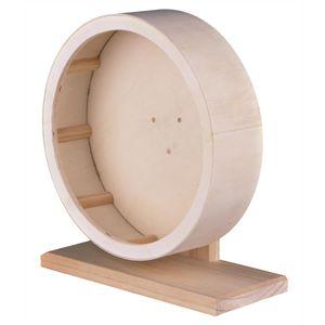 Trixie Holzlaufrad für Mäuse, Hamster und Gerbils ø 21 cm