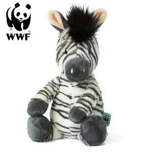 WWF Cub Club - Ziko das Zebra (weiß, 29cm) Kuscheltier Stofftier Plüschtier für Kleinkinder