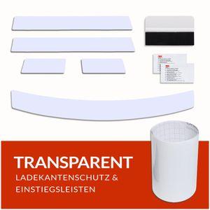 Ladekantenschutz und Einstiegsleisten Folie für VW T-Roc ab Bj. 2017-, Farbe:Transparent