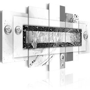 Modernes Wandbild 020101- 165 (200x100) - 5 Teilig Bilder Fotografie auf Vlies Leinwand Foto Bild Dekoration Wand Bilder Kunstdruck ABSTRAKT