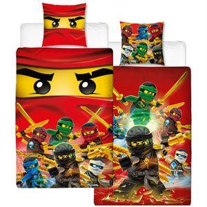 Lego Ninjago Champion Fire Bettwäsche Renforcé / Linon mit Reißverschluss