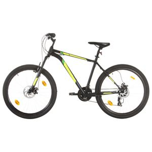 vidaXL Mountainbike 21 Gang 27,5 Zoll Rad 42 cm Schwarz