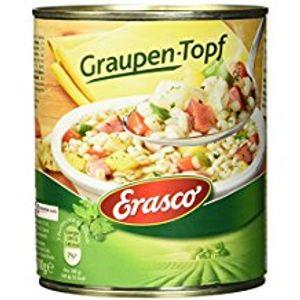 Erasco Graupen Topf mit Rindfleich und Gemüse Dose 800g 3er Pack