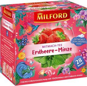 Milford Erdbeere-Minze (28 x 2,25g)