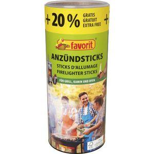 Favorit 120 Ofenanzünder, Anzündesticks Sticks Grillanzünder Kaminanzünder