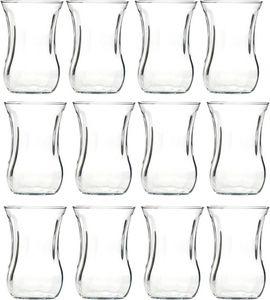 12 x türkische Teegläser Pasabahce optik 115cl