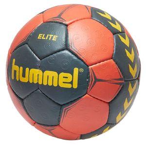 Hummel Elite Handball Ball orange/grau/gelb verschiedene Größen 091789-8741, Ball-Größe:2
