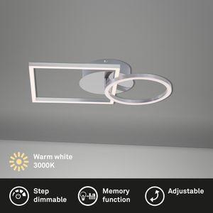 LED Deckenleuchte dimmbar Memoryfunktion drehbar 19,6 W Briloner Leuchten