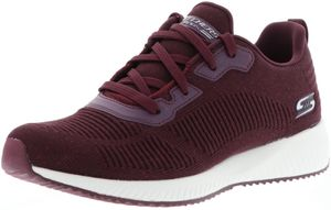 Skechers Damen Sneaker Low Rot Schuhe, Größe:39