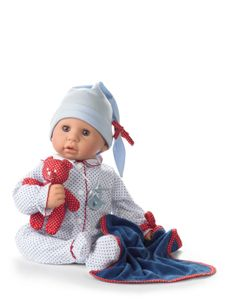 Götz Puppen 1161034 GÖTZ Cookie 48 cm blau