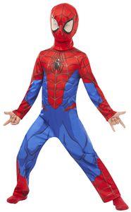 Rubies - Kinder Spiderman-Kostüm - L (7-8 Jahre)