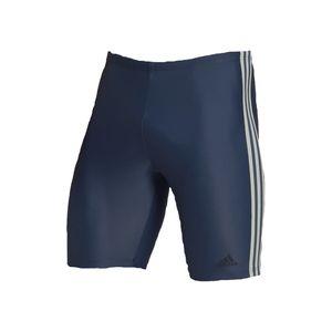 adidas Jammer Badehose Herren im 3 Streifen Design, Farbe:Blau, Größe:8