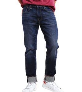 LEVI´S 502 Denim-Hose zeitlose Herren Jeans Regular Taper Dunkelblau, Größe:W27/L32