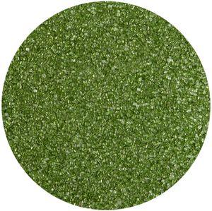 Dekorzucker Grün Glitzerzucker Farbzucker Zucker Moosgrün 100g