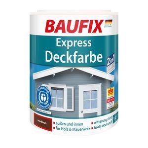 BAUFIX Express Deckfarbe nussbraun