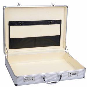 GRÄWE Aktenkoffer Attachekoffer mit Alu-Rahmen, leer