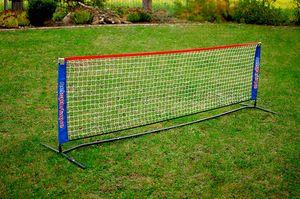 Tennisnetz 3m - Tennisnetz Garten - Fussballtennis - inkl. Transporttasche