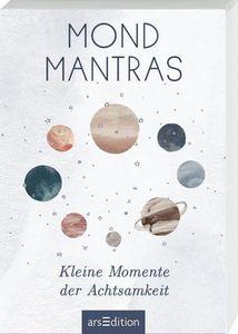 Mondmantras: Kleine Momente der Achtsamkeit - Kartenbox mit 50 Kärtchen
