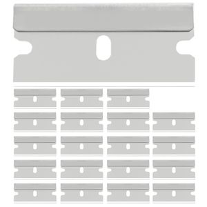 50 Stück Ersatzklingen Glasschaber Ceranfeldschaber Glasfeld Ersatz Klinge 40mm Vignettenschaber