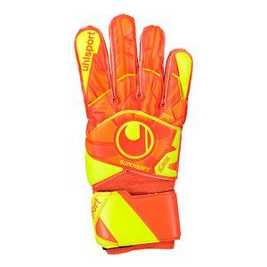 uhlsport Dynamic Impulse Supersoft Torwart Handschuhe - orange/gelb 6