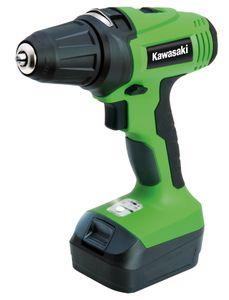 KawasakiAkkuschrauber K-AK 14,4-2 Li grün/schwarz 603010231