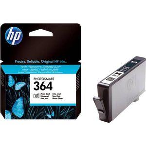 HP 364, Original, Tinte auf Farbstoffbasis, Foto schwarz, HP, HP Photosmart 7510, 7520, B109a, B109d, B109n, B8550, C309a, C309g, C310a, C410b, C510a, C5324,..., 1 Stück(e)