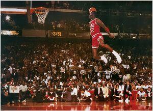 Michael Jordan XXL Poster Slam Dunk Contest